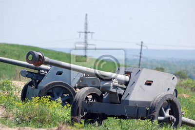 German cannon of WW2 time