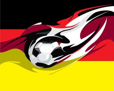 Wall mural German football