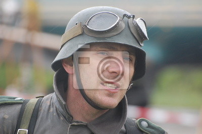 German soldier. WWII time