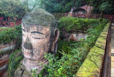 Wall mural Giant Buddha(Da fo) - Leshan, Sichuan, China