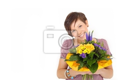Give spring flowers