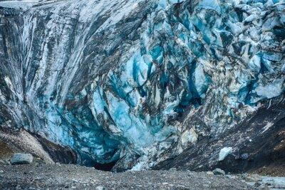 Wall mural Glacier