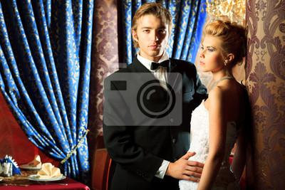 glamourous couple