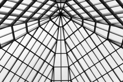 Wall mural Glass roof