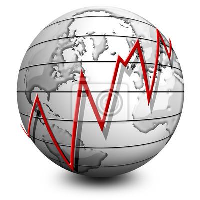 Globo Affari-Business Globe