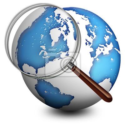 Globo con Lente-Lenses and Globe-Globe avec Loupe 2
