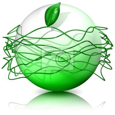 Globo Ecologico-Ecological Globe-Sphere Ecologique