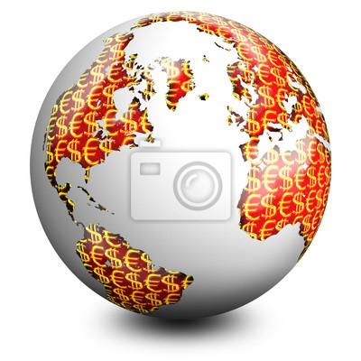 Globo Soldi-Business Globe-Globe Affaires 2