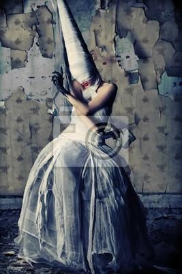 gloomy girl