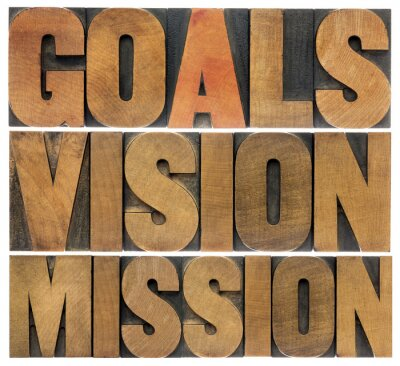 Wall mural goals, vision and mission