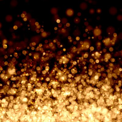 Wall mural Gold abstract light background