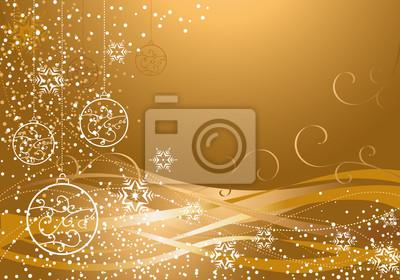 gold Christmas decoration