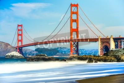 Wall mural Golden Gate Bridge in San Francisco, California, USA.