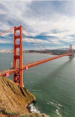 Wall mural Golden Gate Bridge, San Francisco, California