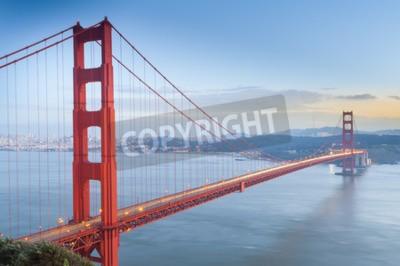 Wall mural Golden Gate Bridge, San Francisco, California, USA