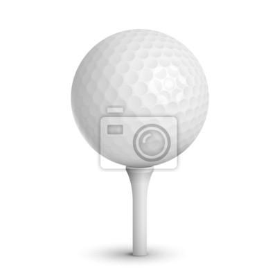 Wall mural golf ball