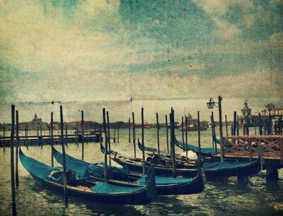Wall mural Gondola. Venice