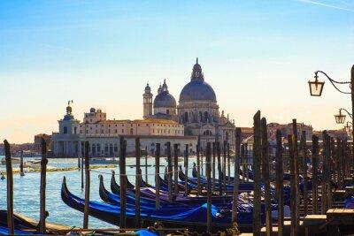 Wall mural Gondolas, Venice