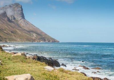 Wall mural Gordon's Bay South Africa coastal mountain road