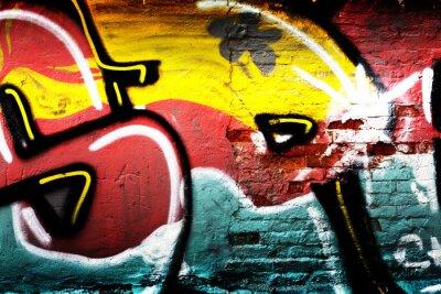 Wall mural Graffiti