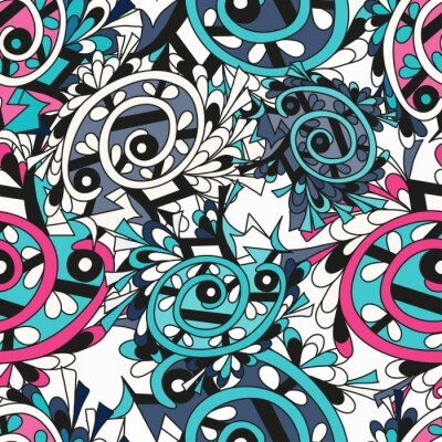 Wall mural Graffiti background seamless texture