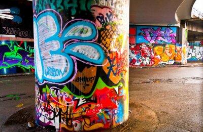 Wall mural Graffitti Wall