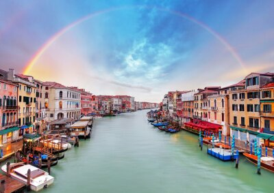 Wall mural Grand Canal - Venice from Rialto bridge