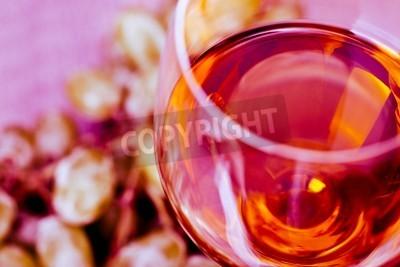 Wall mural Grape and Wine