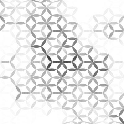 Wall mural Gray White mesh Background, Creative Design Templates