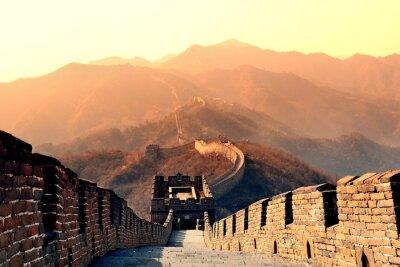 Wall mural Great Wall morning