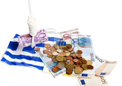 Greek under Euro pressure