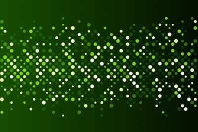 Wall mural Green abstract background.