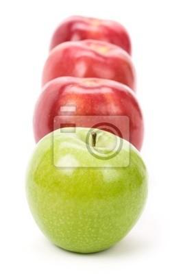 Green Apple red apple