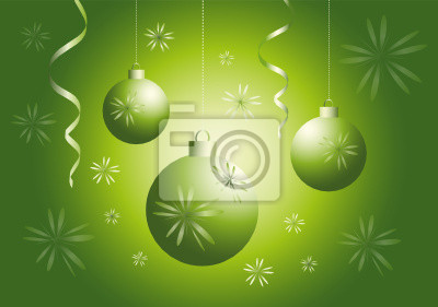 green baubles