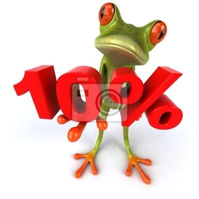 Grenouille et 10%