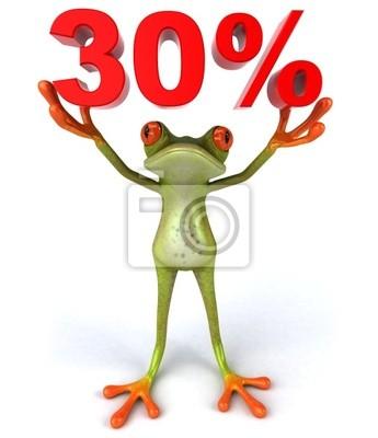 Grenouille et 30%