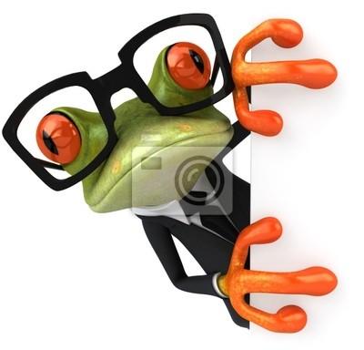 Grenouille et lunettes