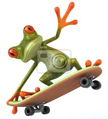 Grenouille skateboard