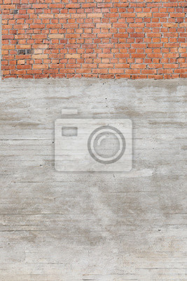Grey concrete wall weathered texture background