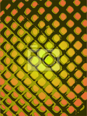 Wall mural grid