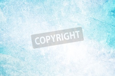 Wall mural grunge light blue color abstract background