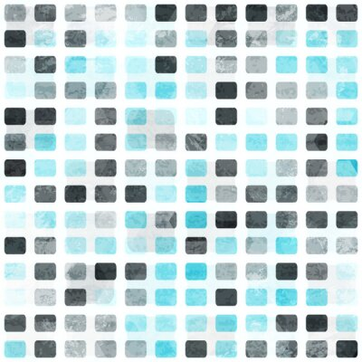 Wall mural grunge square seamless