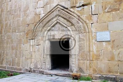 Gruzja twierdza Ananuri kościół 2
