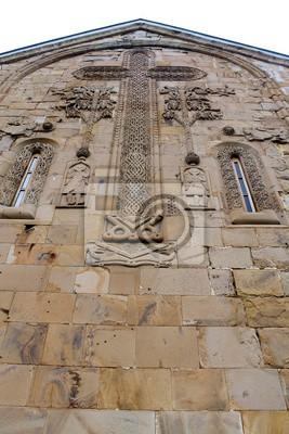 Gruzja twierdza Ananuri kościół