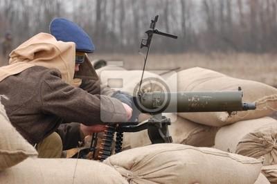 Gunner .Russian Civil war 1918