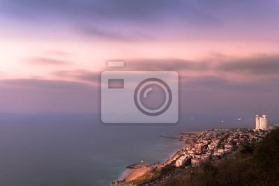 Haifa Bay at Sunset