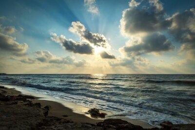 Haifa Israel sunset