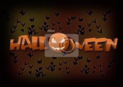 Halloween - Fledermäuse