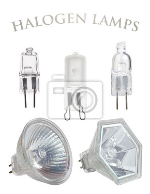 halogen lamps collection