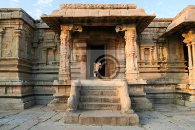 Hampi ruins building india
